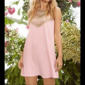 Lilly Pulitzer Sz 6 Pearl Soft Shift Dress EUC